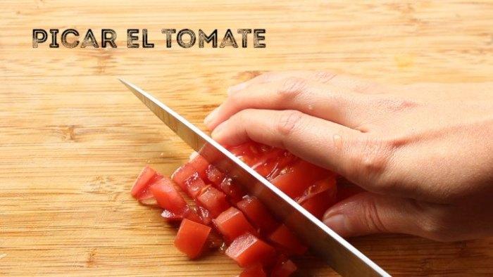 tomate para hacer quesadillas