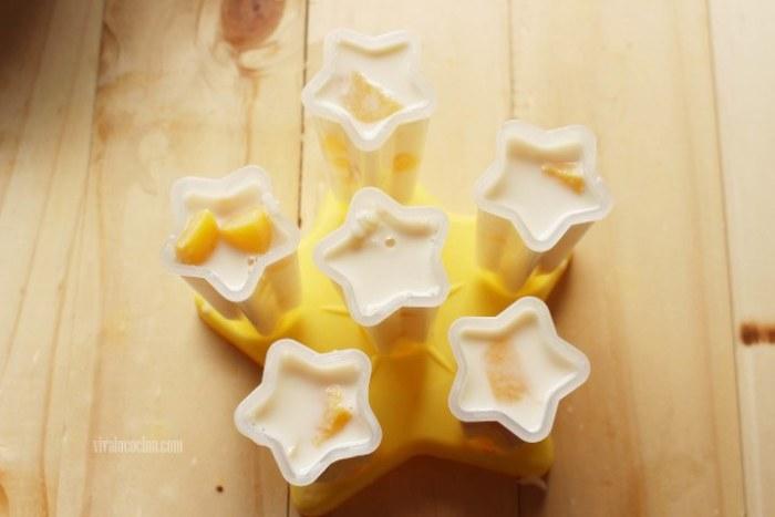 moldes o vasitos para hacer polos de arroz con leche