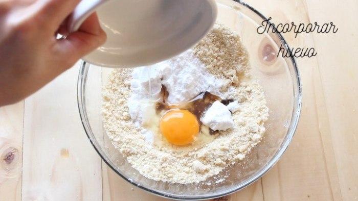 huevo para la base de la Tarta de fresas