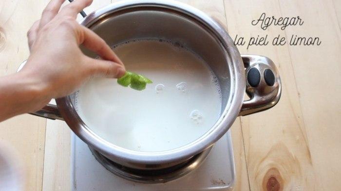 crema pastelera para hacer tarta de fresas