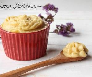 receta de crema pastelera casera