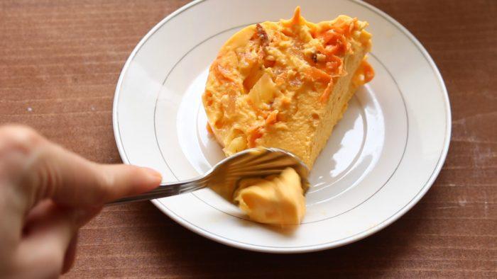 Gelatina de zanahoria hecha en casa