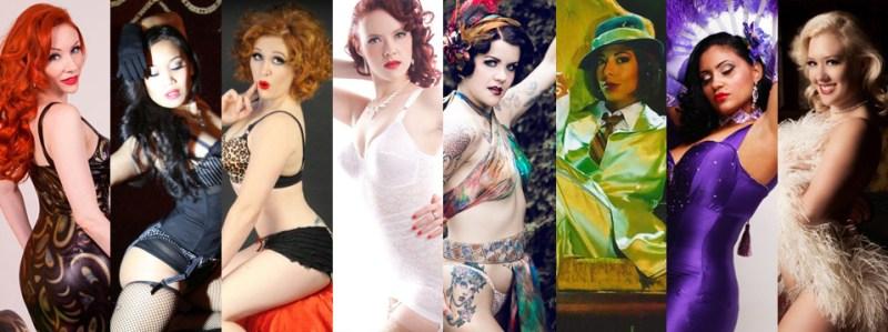 Miss Viva Las Vegas finalists