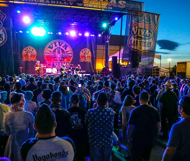 The Viva Las Vegas Rockabilly Weekend Is The Largest Rockabilly Event In The World And The Longest Running Music Festival In Las Vegas Coming Up On Its