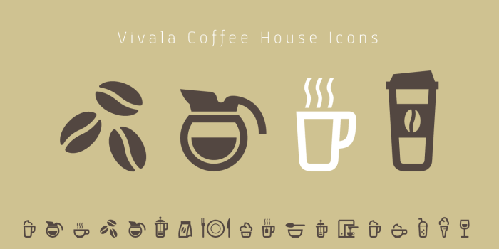 Coffee House Icons - Coffee Pot Icon