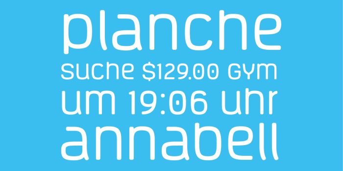 Vivala Unicase Font Sample