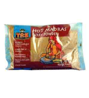 Trs Madras Curry Powder Hot 400G