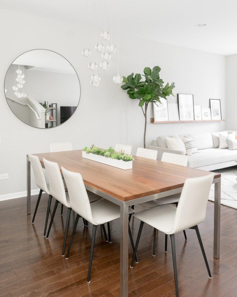 Our Modern Dining Room Design Viv Tim, Modern Dining Room Sets