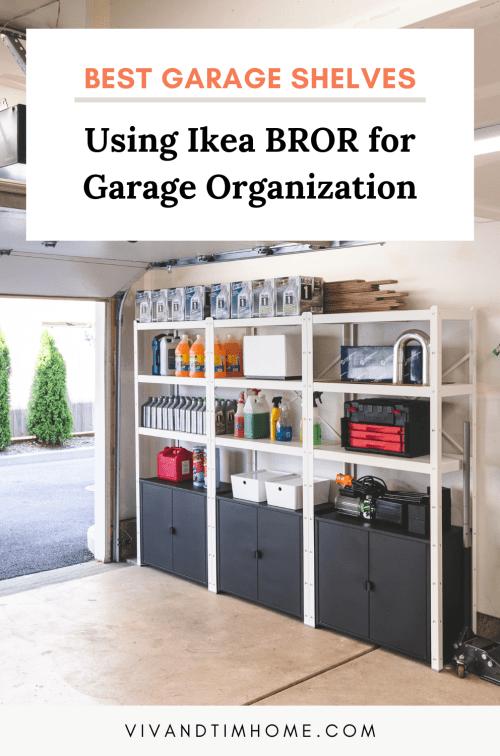 Best Garage Shelves Using Ikea Bror, Best Shelves For Garage