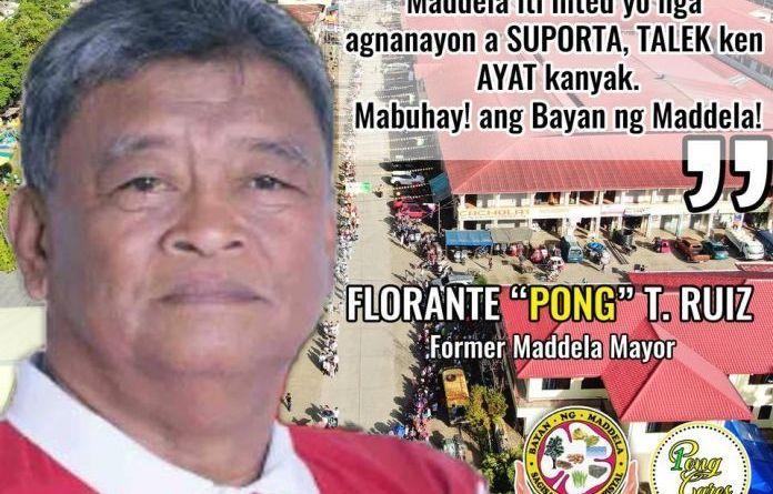 Mayor Florante Ruiz of Maddela Quirino