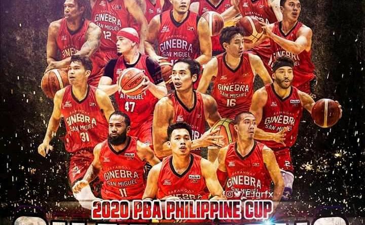 Congrats PBA 2020 Philippine Cup Champion Barangay Ginebra San Miguel