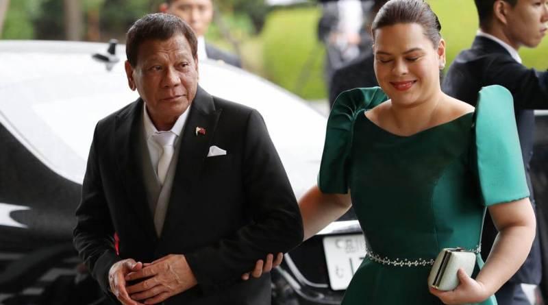 Mayor Sara Duterte and President Digong