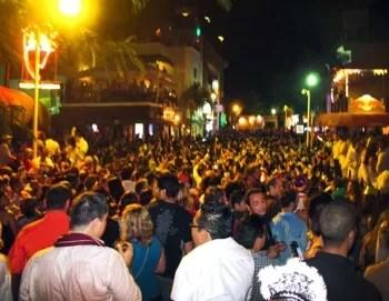 Fin de año en Playa del Carmen, calle 12