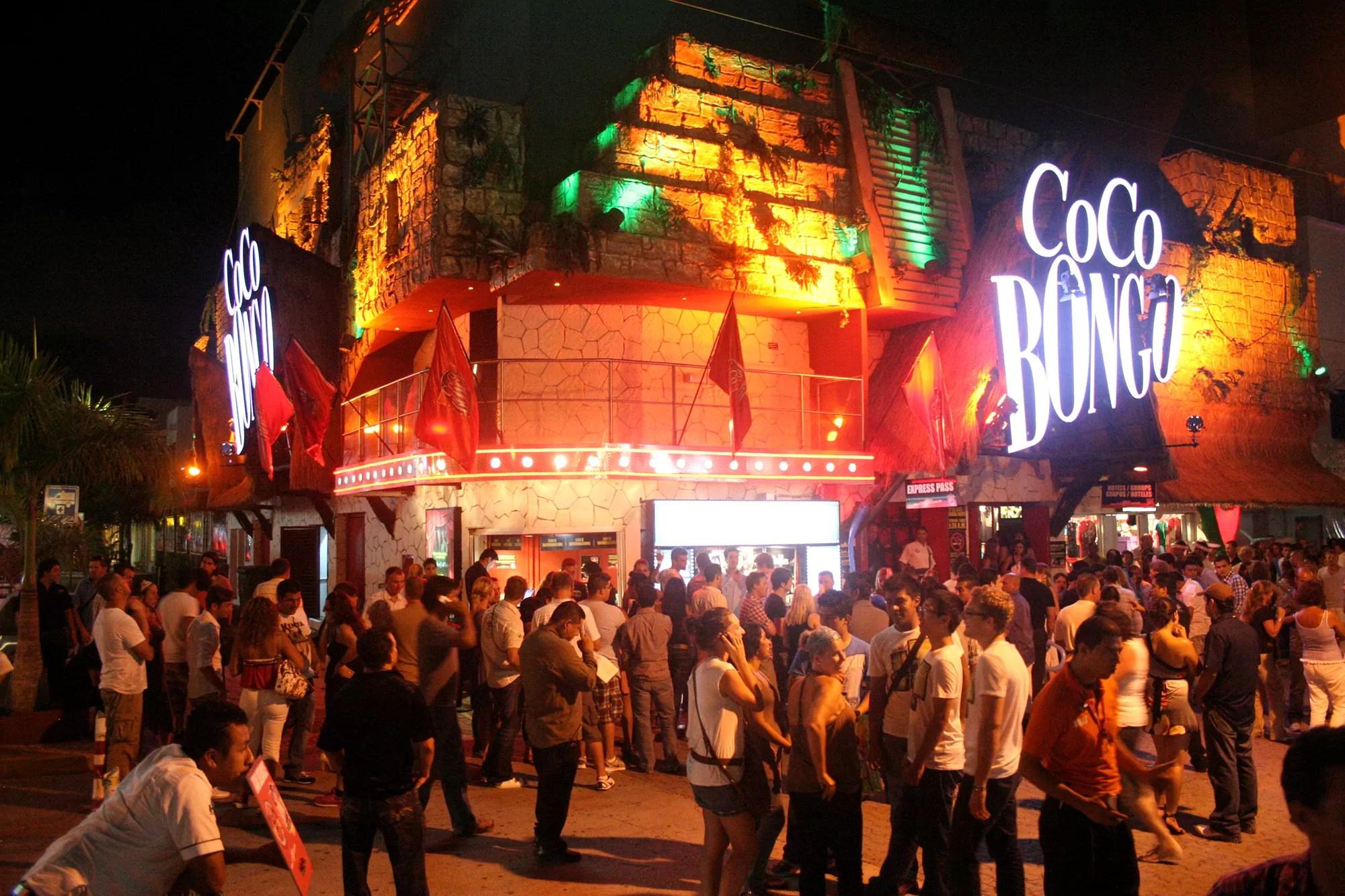 Coco Bongo, uno de los lugares más famosos de la Riviera Maya