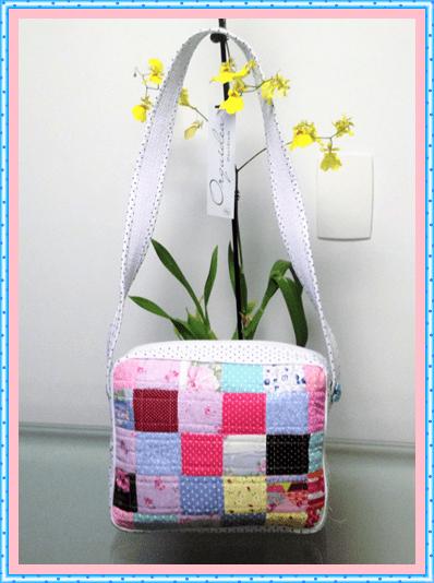 Bolsa Feita De Tecido Passo A Passo : Passo ? bolsa de patchwork vivartesanato