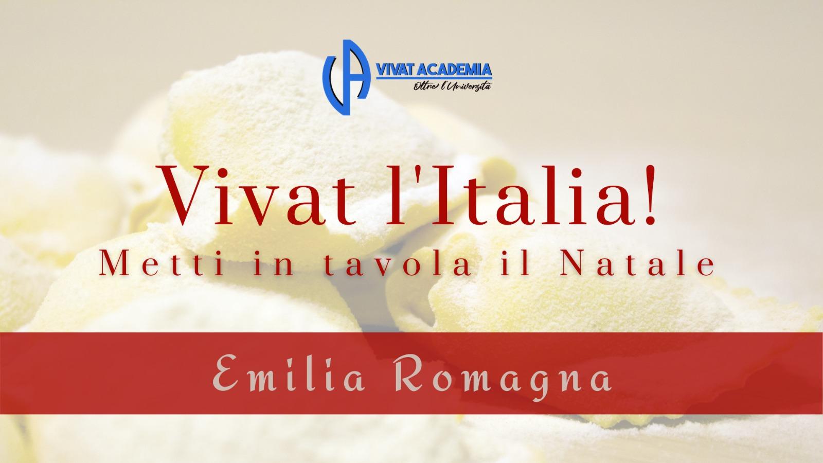 Metti il Natale in tavola: l' Emilia Romagna