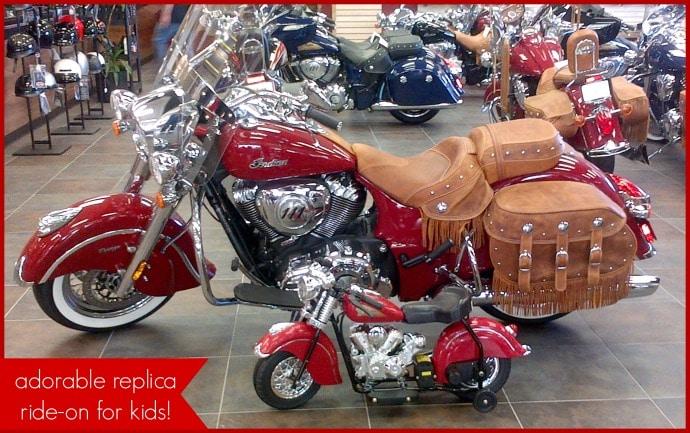 Little Vintage Indian Motorcyle