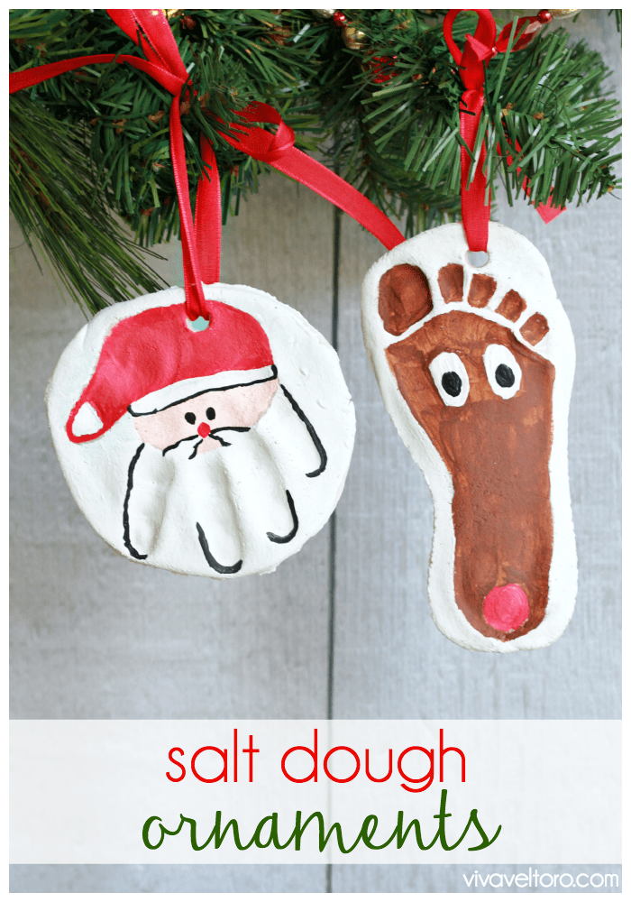 How To Make Christmas Tree Ornaments With Dough : How to make salt dough ornaments viva veltoro