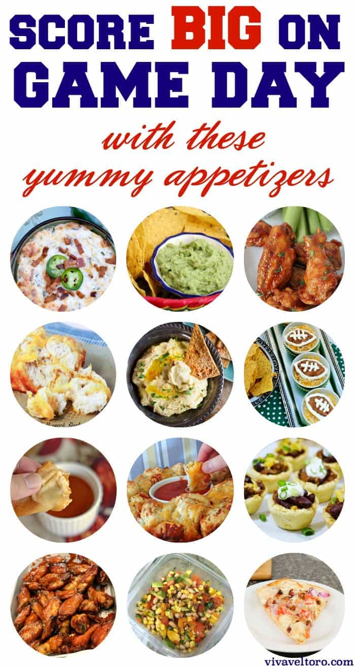 Game Day Appetizers And Finger Foods!