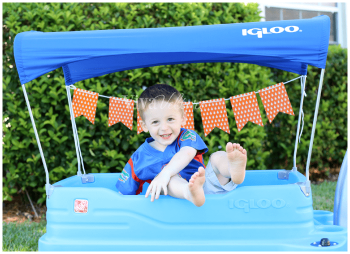 The Ultimate Toddler Tailgate With The Step2 Igloo Wagon