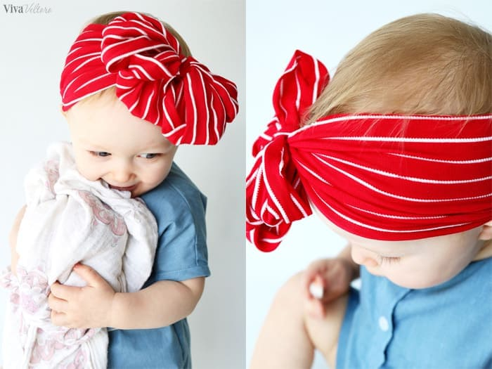 How To Make Baby Headbands Without Sewing Viva Veltoro