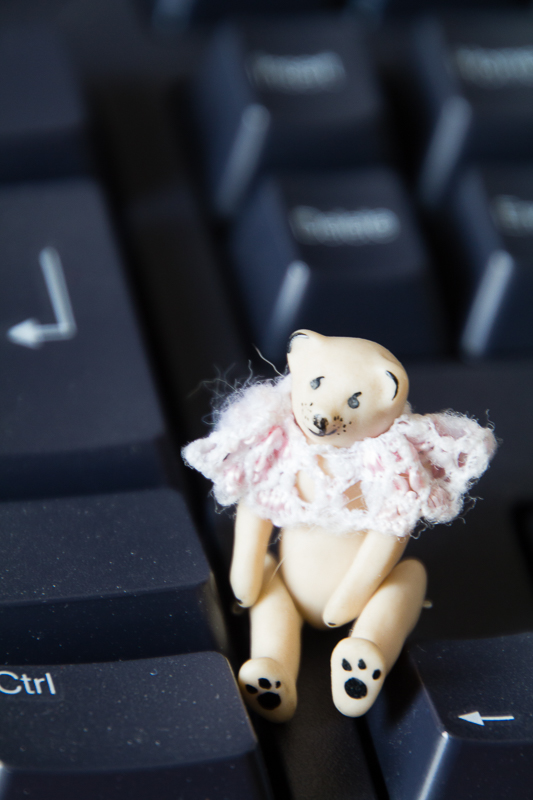 Keyboard Bear