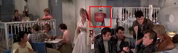 Coca Cola dans Grease