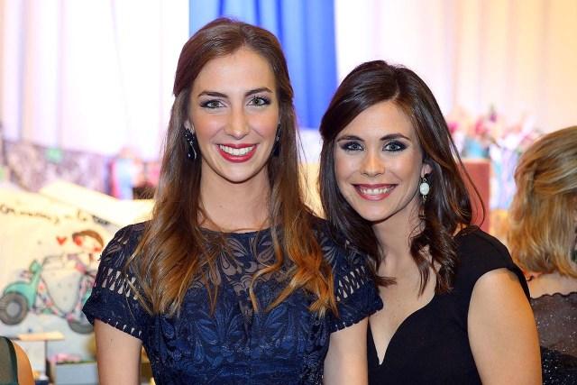 Raquel Alario Bernabé i Laura Caballero Molina, Falleres Majors de València 2017 y 2011, respectivament. Fotografia: Armando Romero