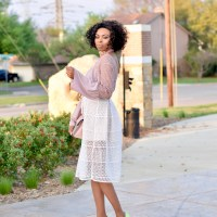 How to style a Midi skirt-Easter Inspo
