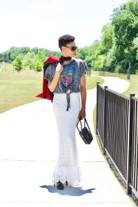 Rocker chic meets Boho chic posted by vivellefashion
