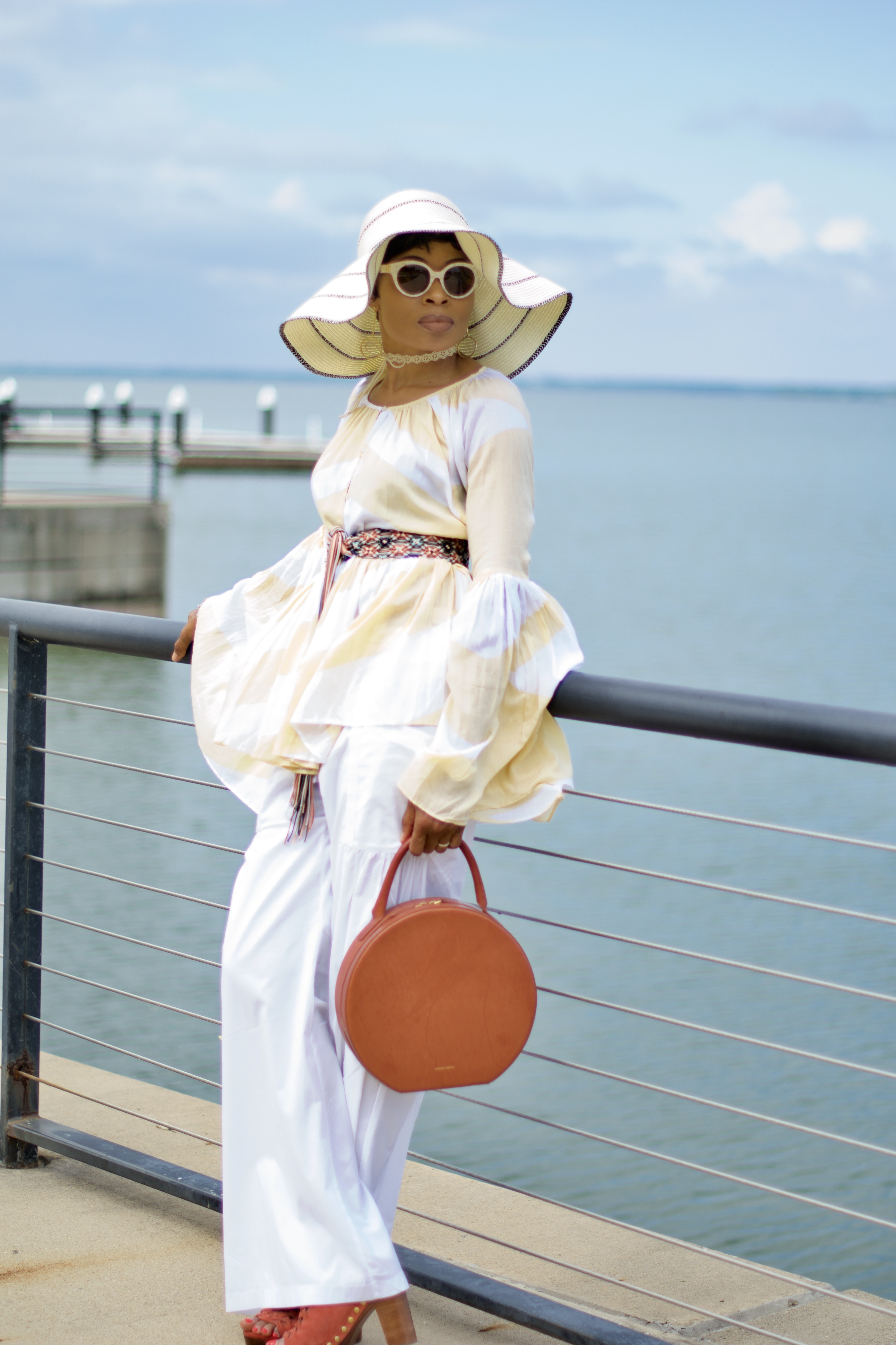 French Riviera Boho chic Posted by Vivellefashion
