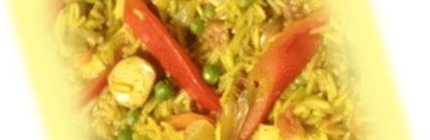 Arroz à Valenciana Vegetariano