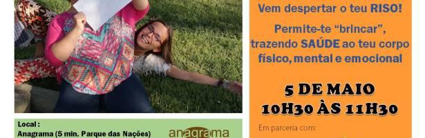 Vem despertar o teu Riso!!! – Yoga do Riso