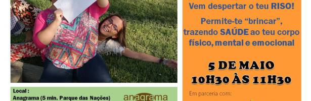 Vem despertar o teu Riso!!! – Yoga do Riso