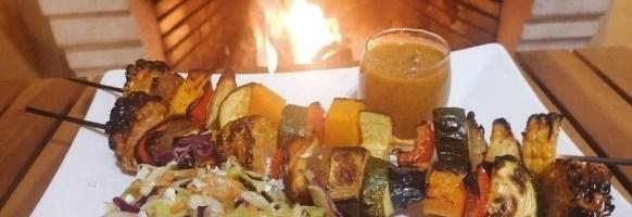 Tertúlias com Sabor: Espetada da casa, com vegetais crocantes