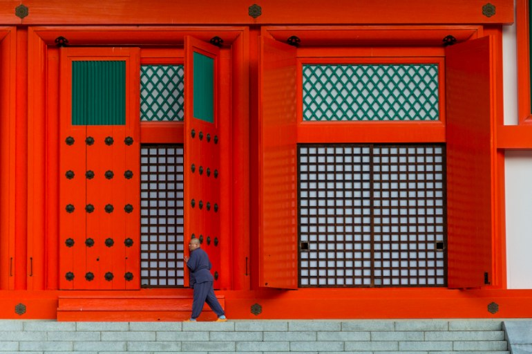 Monte Koya – durma num templo no Japão