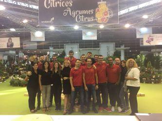 "EQUIPO VIVERCID EN IBERFLORA 2017 ""THE POWER OF GREEN"""