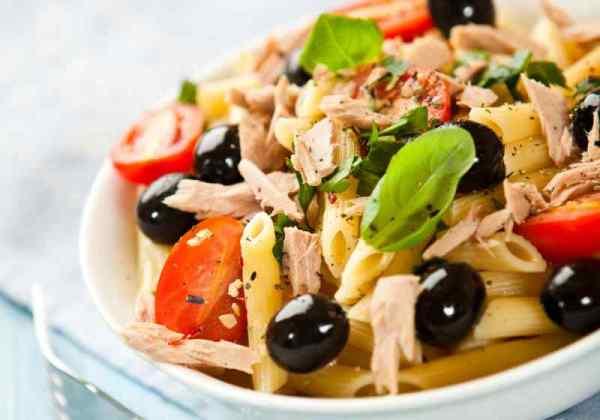 menù esempio di dieta mediterranea