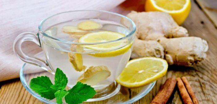 Tisane per dimagrire - Ricette di tisane dimagranti e come preparare una buona tazza di tisana dimagrante a base di zenzero, limone, menta e fucus.