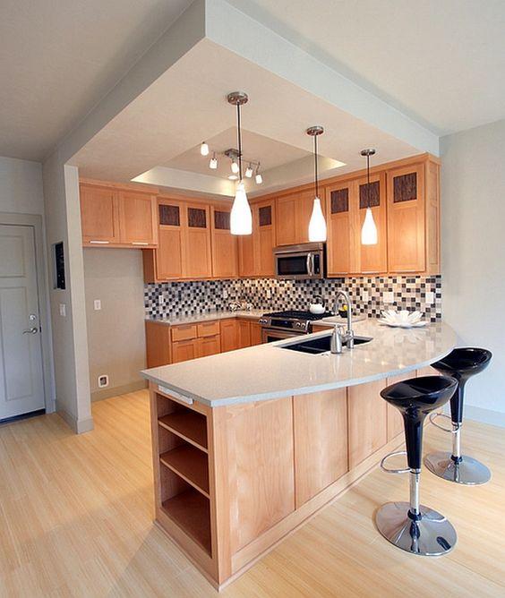 Attrezza con mensole i divisori in cartongesso per avere un effetto più leggero e décor. Open Space 7 Idee Per Dividere Cucina E Soggiorno Vivere Lo Stile