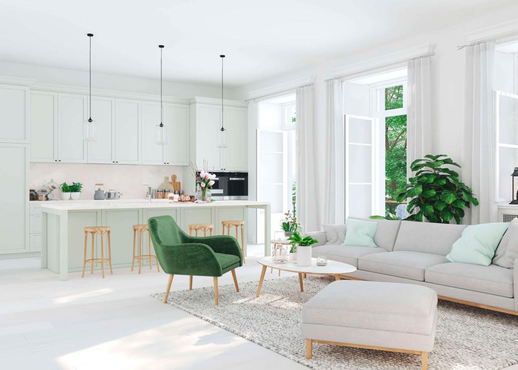 Sempre più apprezzato in termini di progettazione di interni, il soggiorno con cucina a vista permette di vivere pienamente la zona living della casa favorendo comunicazione ed interazione. Open Space 7 Idee Per Dividere Cucina E Soggiorno Vivere Lo Stile