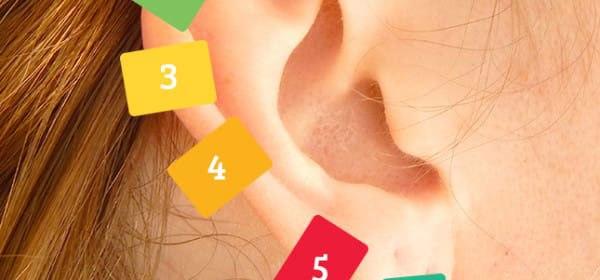 riflessologia dell'orecchio