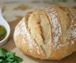 Pane alle spezie : origano e basilico