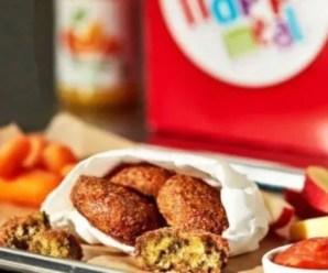 Il MC Falafel, con ingredienti 100% vegetali