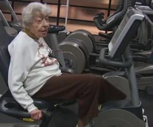 Natasha Brenne, la vegana di 97 anni che ancora va in palestra