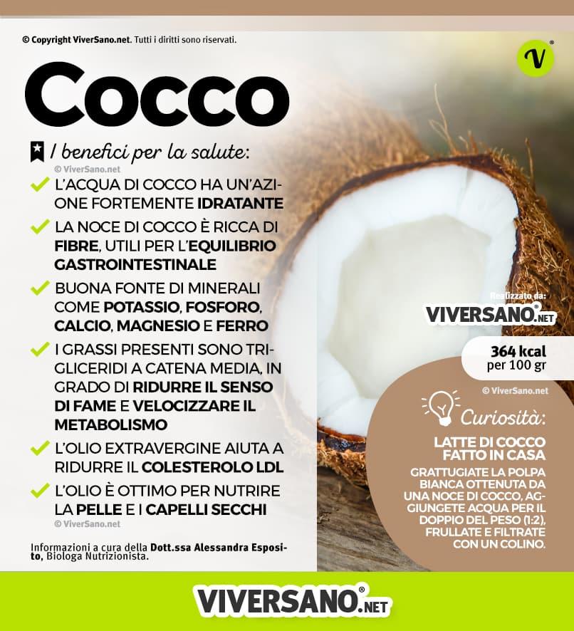 Noce Di Cocco Proprietà E Benefici Della Polpa E Dellacqua