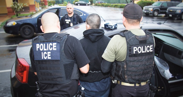 Resultado de imagen para ICE contra inmigrantes Gobierno de Bukele calla frente a redadas de migrantes-VerdadDigital.com-