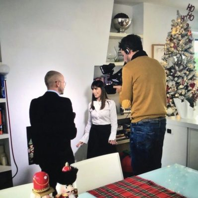 Il Tg4 intervista l'Home Stylist Viviana Grunert per un Natale in grande Stile!