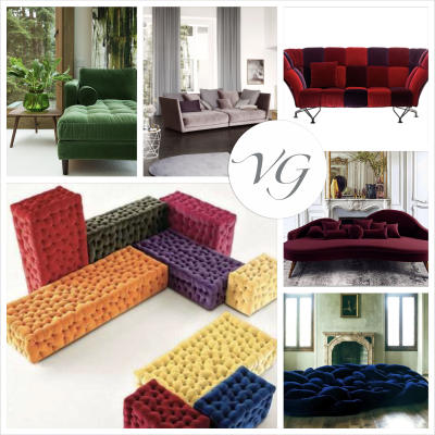Il velluto: dalle passerelle all'Home Decor è Velvet Style!