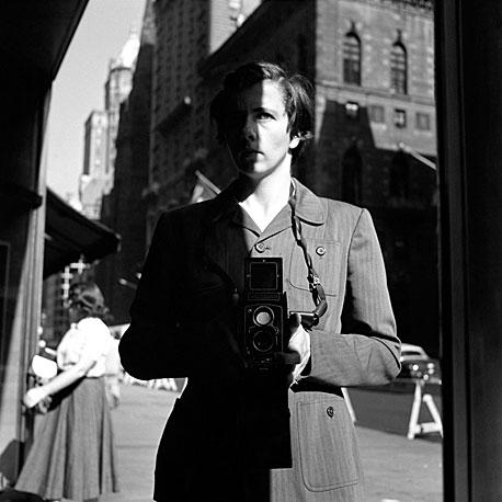 Vivian Maier, Self Portrait, October 18, 1953, New York